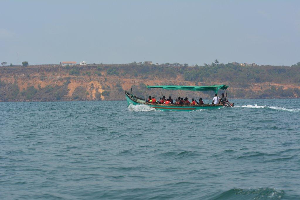 Boat trip Grand Island Goa