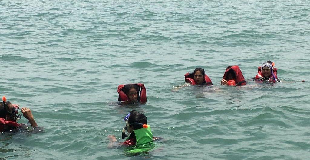 Snorkeling Grand Island Goa