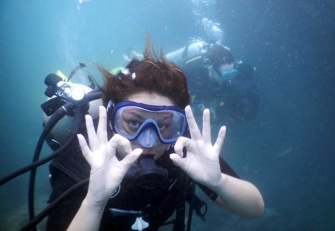 Best scuba diving information goa